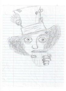 Drawdrawdrawdrawdraw. I Cinta to draw! I doodled this at school.