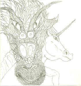 it's cool!!!! what do u think of mine? i drew this. (this isn't even the best dragon i've drawn) u can't see it to well, but i have all the scales and everything!