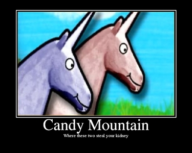 CANDY MOUNTAIN!