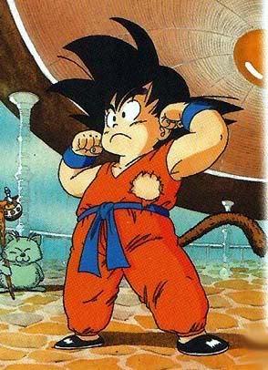 Goku, he's a cutie=P