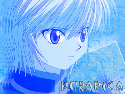 Kurapica,he is the last of he's tribe and that makes him zaidi amazing that anybody else