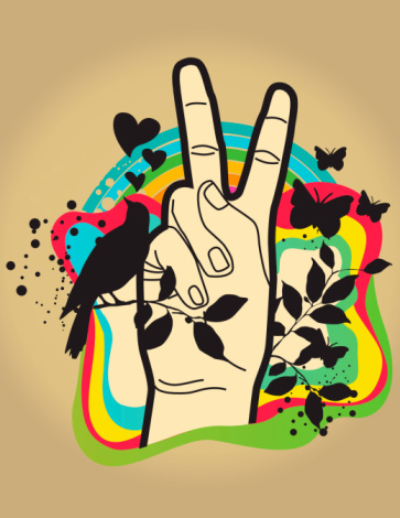 Peace, of cours!!!