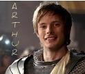 Arthur Pendragon from the TV ipakita Merlin