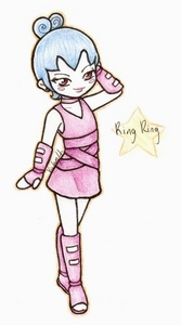 Hum...Ring Ring from Pucca but I found it on DeviantArt
