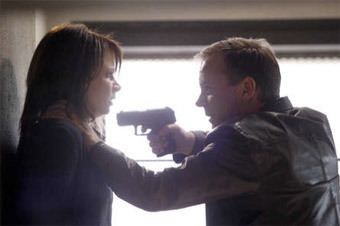 Jack Bauer & Chloe O'Brian from the 24 series finale.
