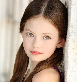 Mackenzie Foy. It's now official! Look it up! :DD