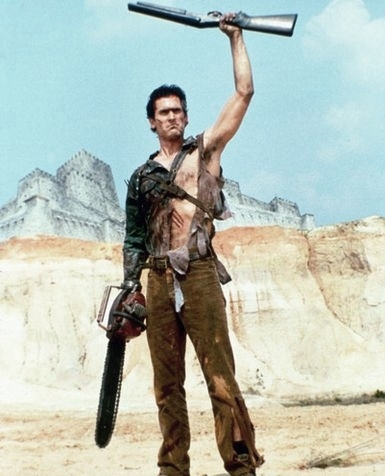 Ash from The Evil Dead.