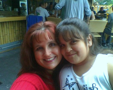 me and my mom when i was 9