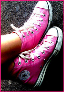 Converse cause there awesome and Avril Lavigne wears them! <333