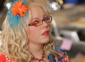 I've been told I look and dress like kirsten vangsness which is awesome since I loveee her! but she's blonde and I have brown hair...