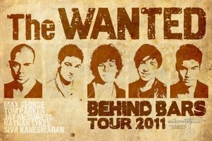 The Wanted Behind Bars Tour 2011