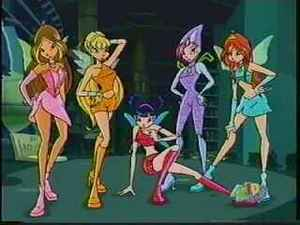 The Winx! (In the Season 1 Opening sequence)