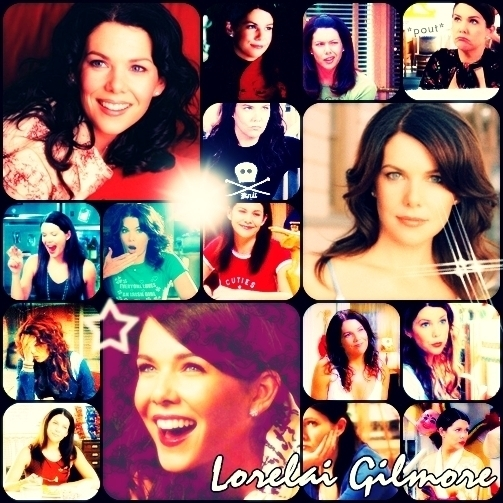 I would definetly be Lorelai!