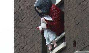 Maria von Köhler's Michael Jackson sculpture at the Premises Studios