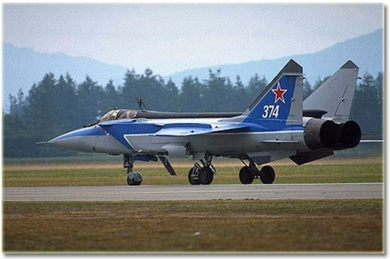 This is a MIG-31