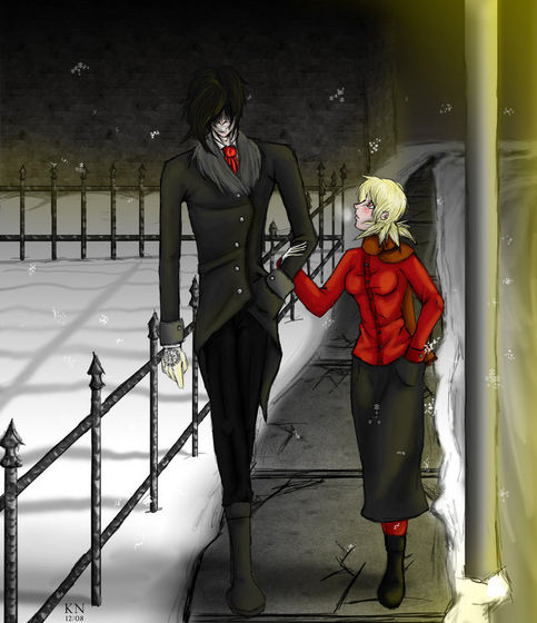 The Night Before Christmas - Alucard and Seras Victoria - Fanpop