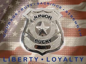 Junior Bucky badge. Help the cause!