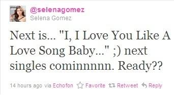 @selenagomez tweet