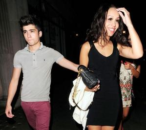 Zayn and Rebecca after clubbing in London!