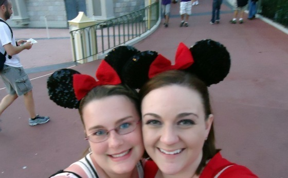 Me and my cousin Jade at Disney last Spring!
