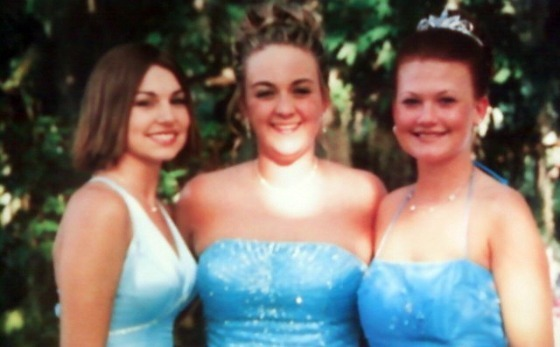 Ashley, Me and Aimee before our Senior Prom