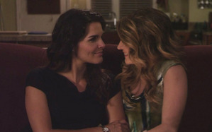 "One of Seph's 最喜爱的 things about Rizzles: ""The chemistry, the whole balance in the couple: Jane being all badass and butchy while Maura is the 更多 feminine side."""