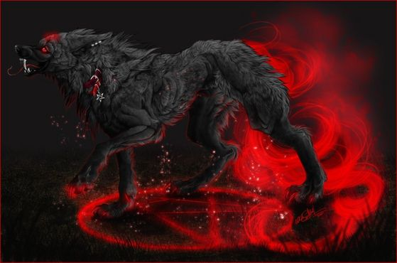 hell wolf by vampireassassin1444 - photo #9