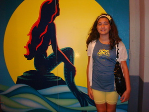 Me at the Little Mermaid broadway tampil in 2008!
