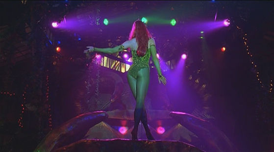 "Poison Ivy's ""show-stopper"" at the Ball the duo attend allowed her to single-out and seduce them both with no hindrances. The element of surprise left them unprepared and ripe for manipulation. Her anonymity gave her cover and fuelled their attraction."
