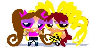 Blaze the light purple one and Boid is the yellow one