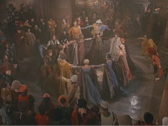 Photo #7 of the Moresca Dance in the 1968 Romeo & Juliet film.