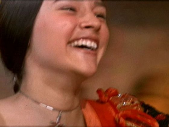 Photo #8 Juliet laughing as the Moresca Dance builds up momentum in the 1968 Romeo & Juliet film.
