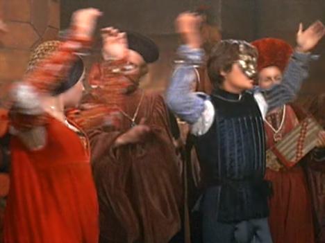 Romeo & Juliet doing the Moresca Dance #3