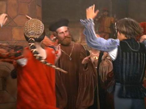 Romeo & Juliet doing the Moresca Dance #4