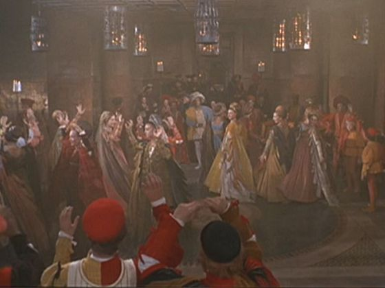 The start of the Moresca Dance in the 1968 Romeo & Juliet film