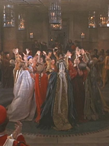 Photo #4 of the Moresca Dance in the 1968 Romeo & Juliet film.