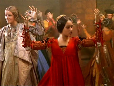 Photo #5 Juliet doing the Moresca Dance in the 1968 Romeo & Juliet film.