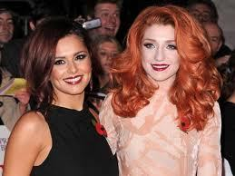 Cheryl Cole and Nicola Roberts.