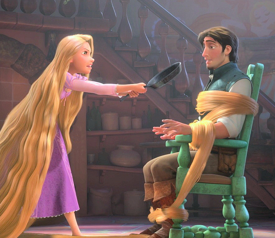 What I have learned from watching Tangled. - Rapunzel and ...