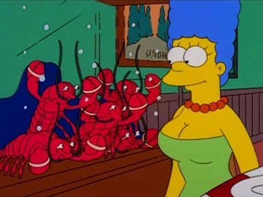 Libido Lobsters in 'Large Marge'