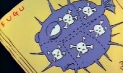 Venmous 'fugu' in 'One fish, tow fish, blowfish, bluefish'
