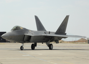 The Lockheed Martin F-22A Raptor