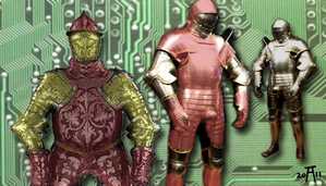 Iron Man formative ideas. Del Toro as Stark?