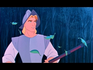 What were the chances that John Smith could be standing right in front of her?