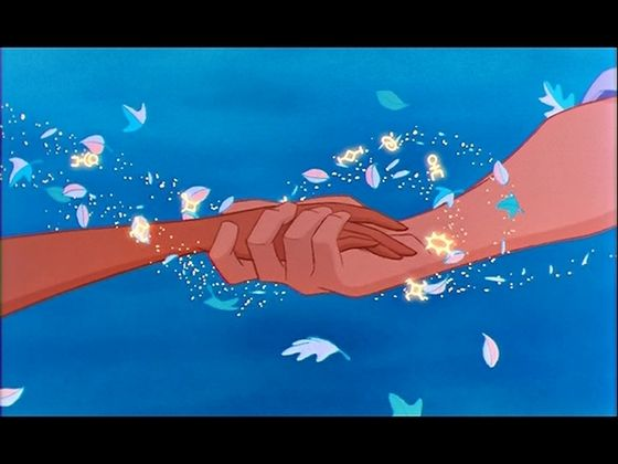 With their hands together again, Pocahontas felt whole once more.