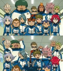 Ah......This should be all Megane's fault....Poor Tsunami and Endou and the rest....