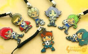 This is my collection of INAZUMA ELEVEN!!!