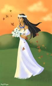 Pocahontas was alone in her tent, her cœur, coeur was prepared and glad for the occasion.