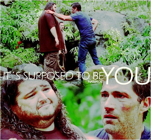 Hurley is such a shipper.