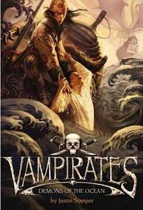 This is the cover of Vampirates:Demons of the Ocean.